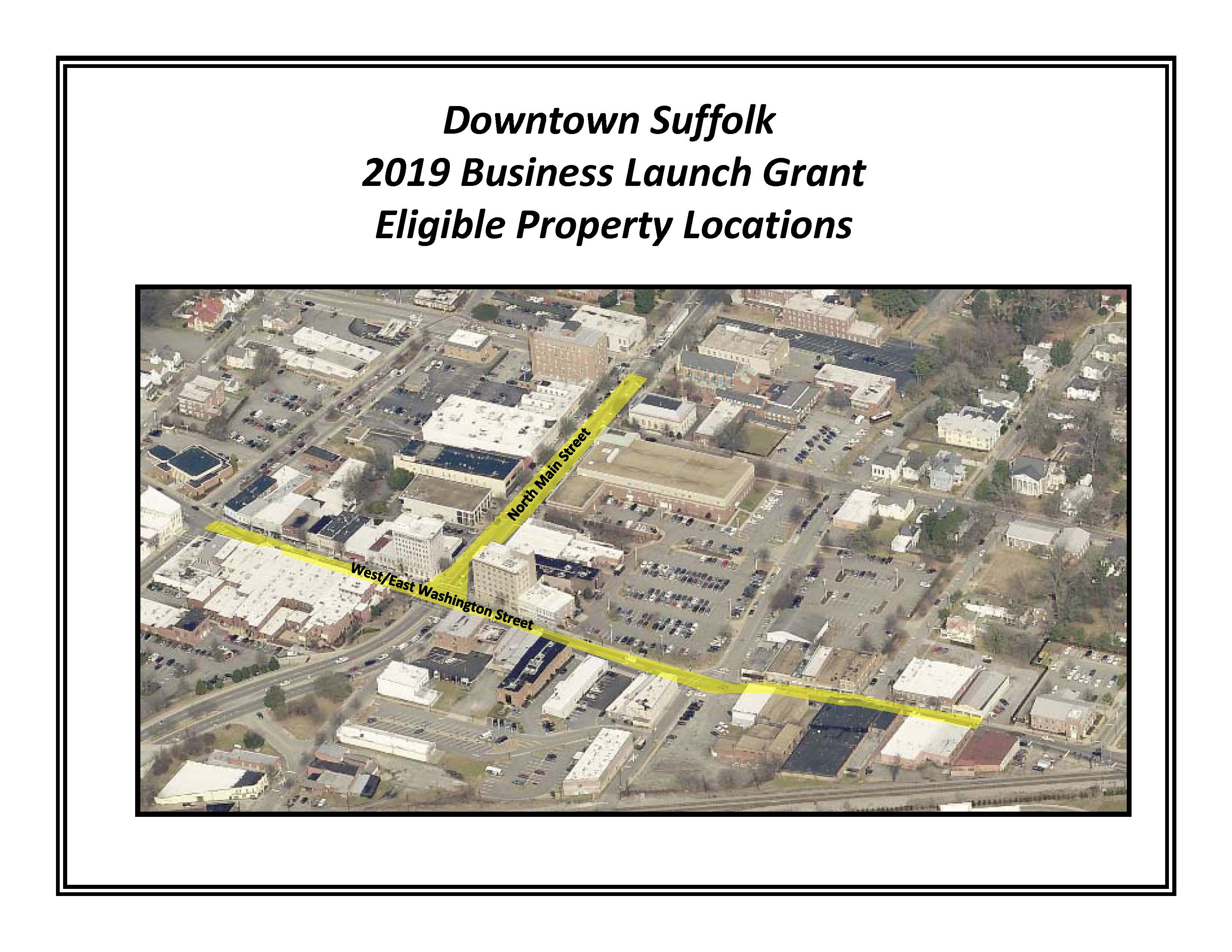Downtown Suffolk Map