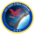 U.S. Fleet Cyber Command logo
